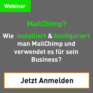 Der Start ins E-Mail Marketing mit Mailchimp